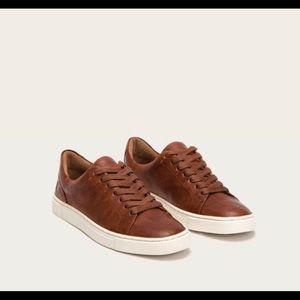 Size 8 brown Frye sneakers